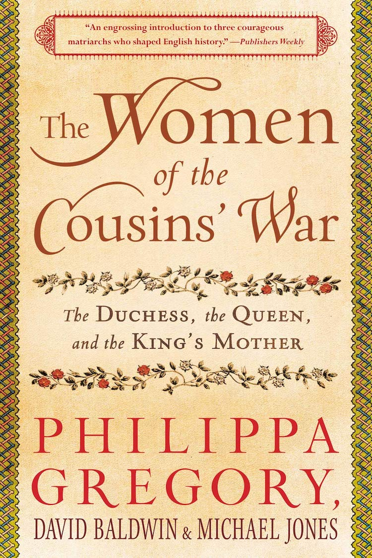 The Women of the Cousins' War UK Cover